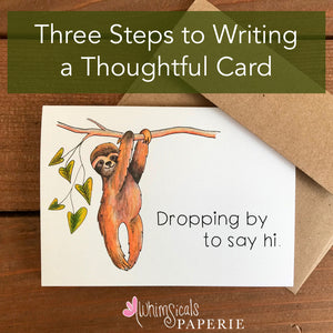 How to Write a Thoughtful Card