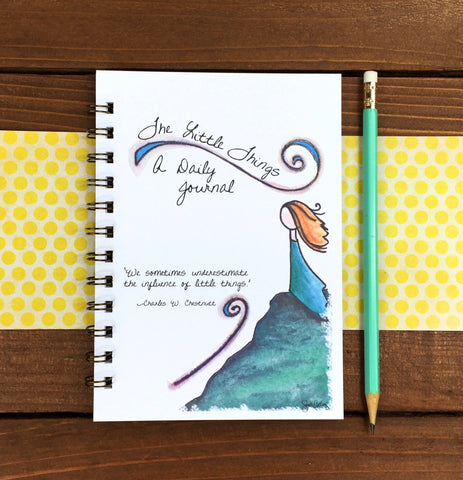 The Little Things Spiral Bound Journal