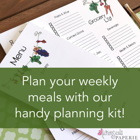Meal & Grocery Planning Kit