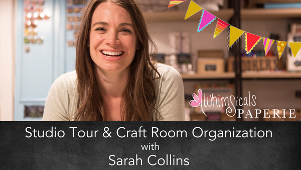 Studio tour & craft room organization tutorial