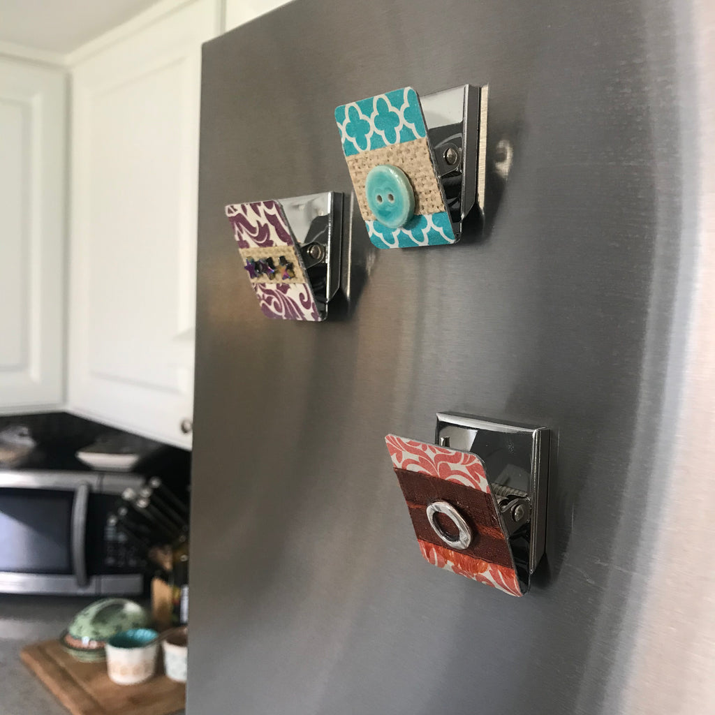 Decorated Magnetic Clips