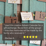 Family Wall Hanging Advent Calendar Kit