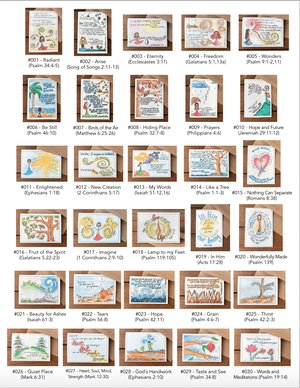 Boxed Set of 30 Assorted Scripture Note Cards