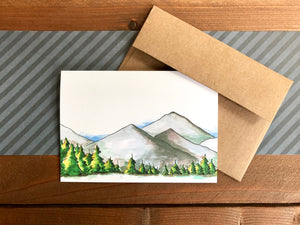 Pine Tree Cards, Choose Your Message - Boxed Set of 8