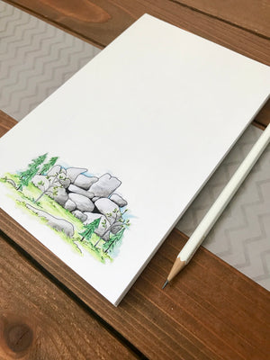 Vedauwoo Artwork - Vedauwoo Notepad