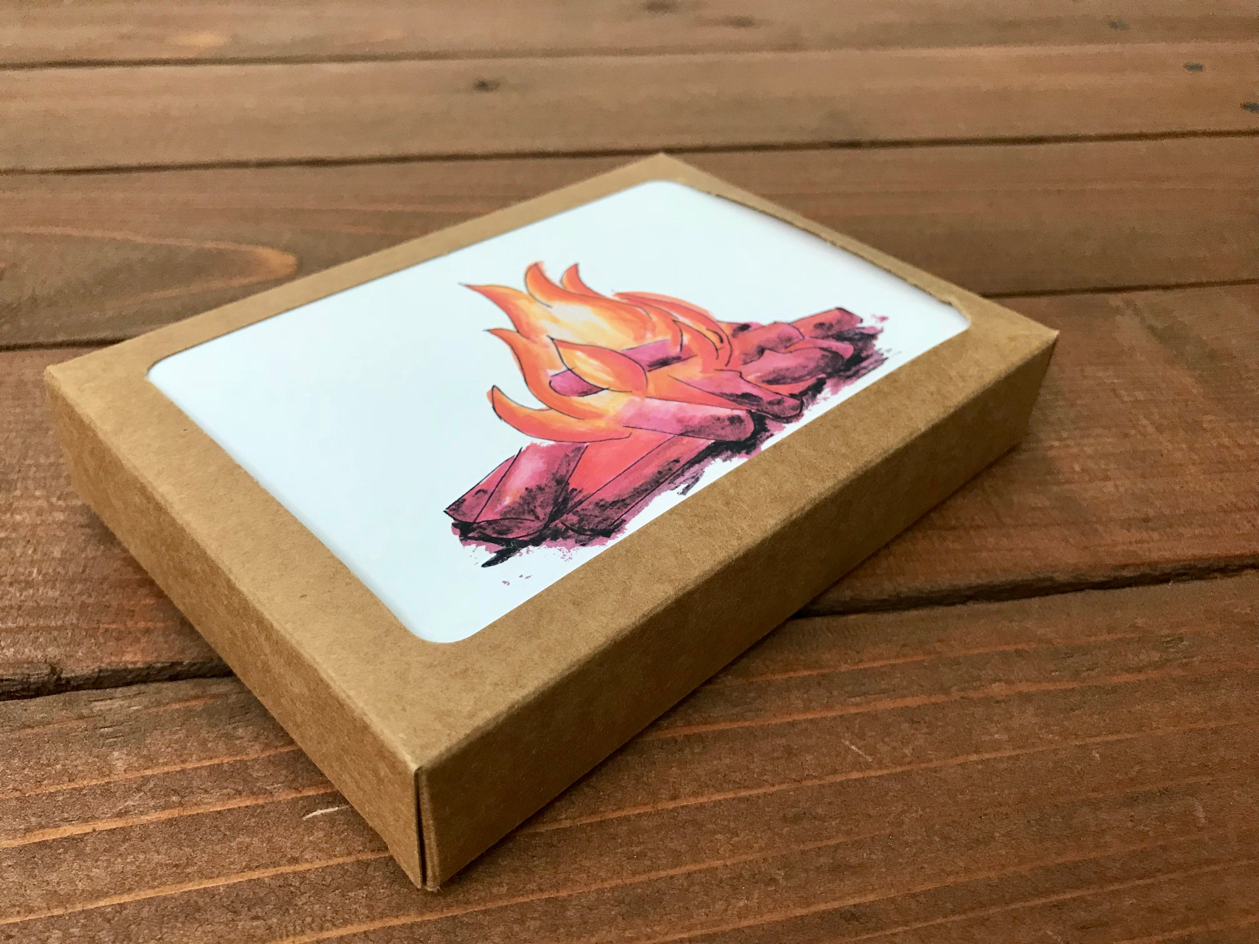 Campfire Cards - Blank - Boxed Set of 8