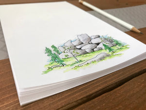 Vedauwoo Illustration Notepad