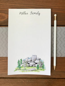 Personalized Vedauwoo Notepad