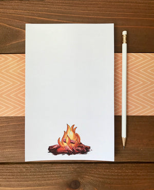 fire notepad