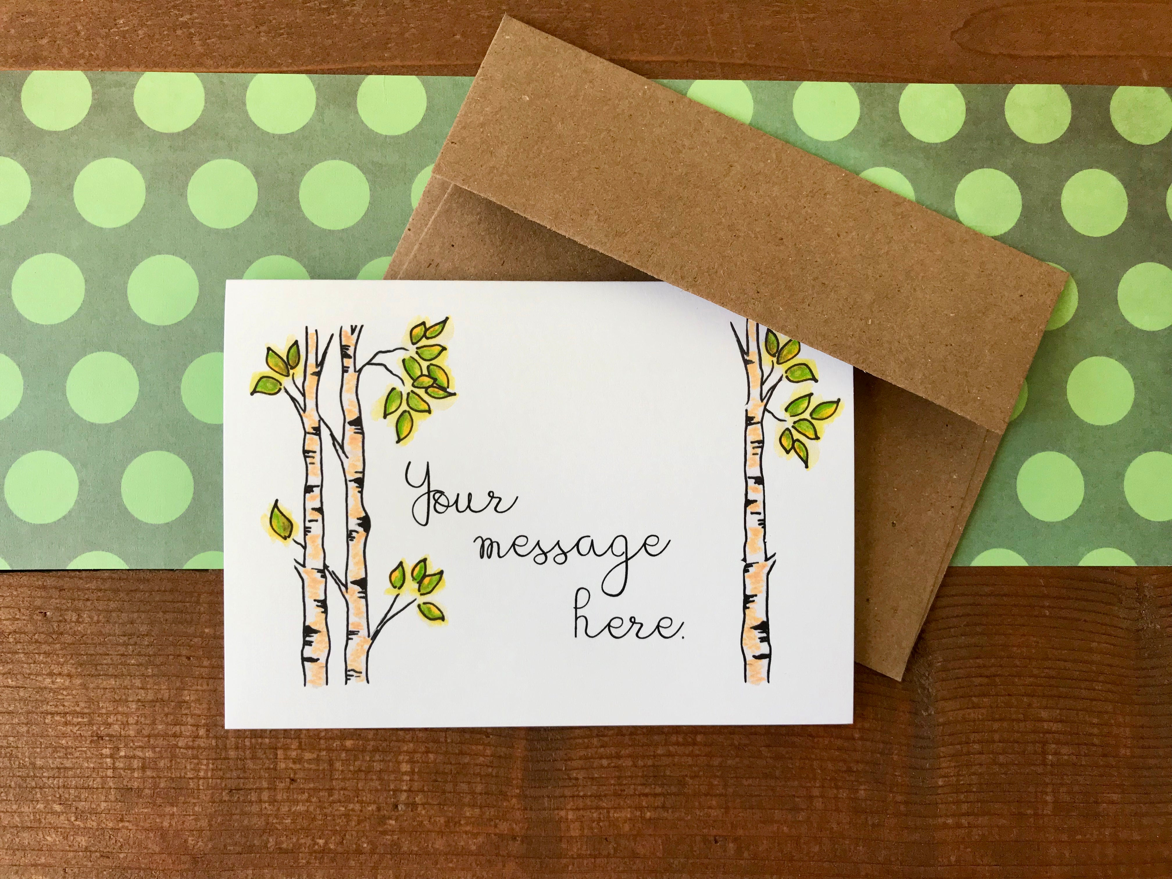 Aspen Cards, Choose Your Message - Boxed Set of 8