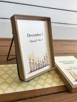 Scripture Advent Calendar Cards - Boxed Set with Metal Stand