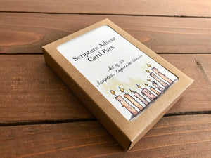 Scripture Advent Calendar Card Deck