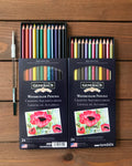 Kimberly® Watercolor Pencils - Set of 24 with Watercolor Brush