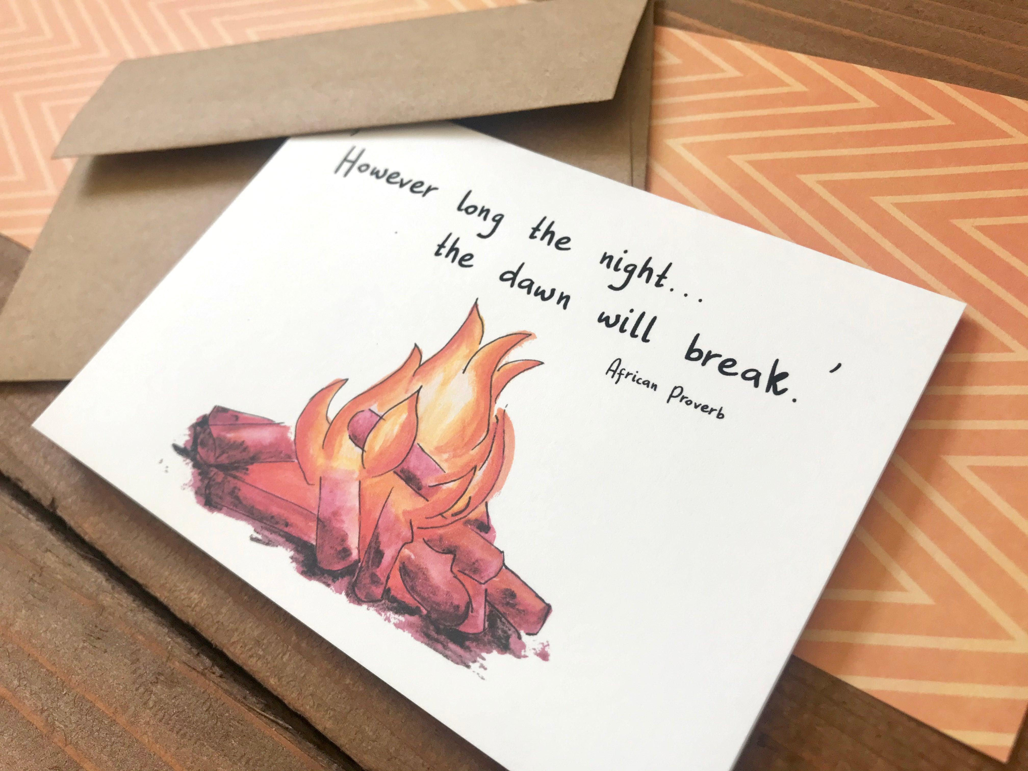 'Dawn Will Break' Special Edition Notecards - Boxed Set of 8