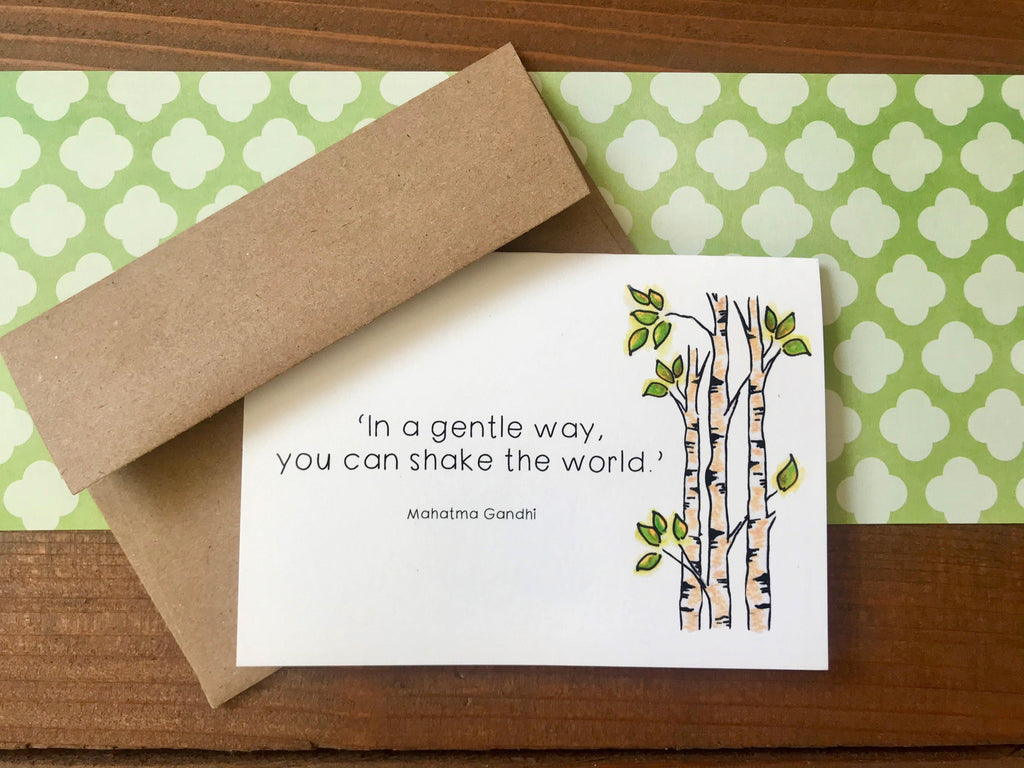 'Shake the World' Special Edition Notecards - Boxed Set of 8