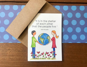 'Shelter of Each Other' Special Edition Notecards - Boxed Set of 8