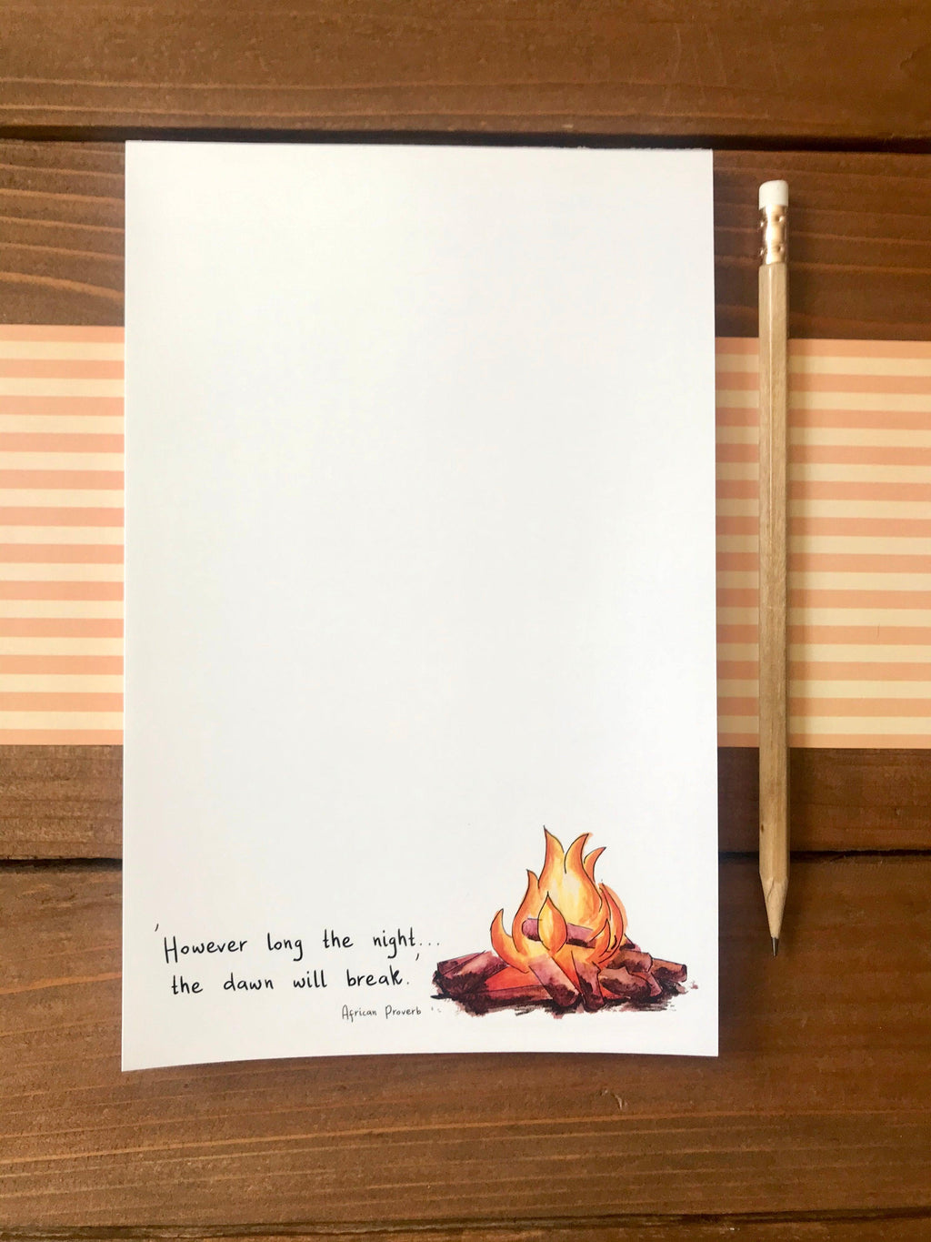 'Dawn Will Break' Illustrated Special Edition Notepad