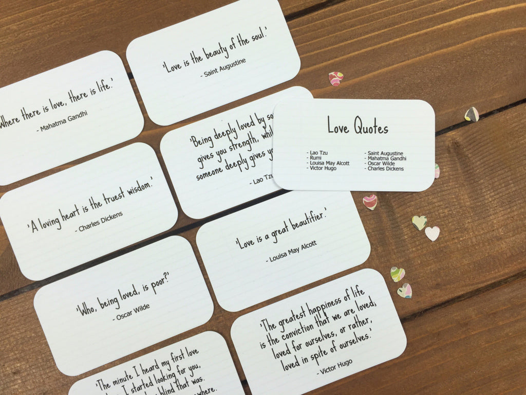 Mini Quote Cards – Whimsicals Paperie