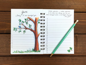 Daily Gratitude Journal, Illustrated One Line Per Day Journal - 5 x 7