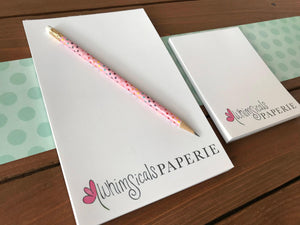 Custom Business Logo Notepad & Stationery Bundle | Various Sizes Available