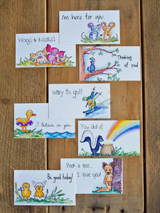 Lunchbox Notes - Assorted Set of 8