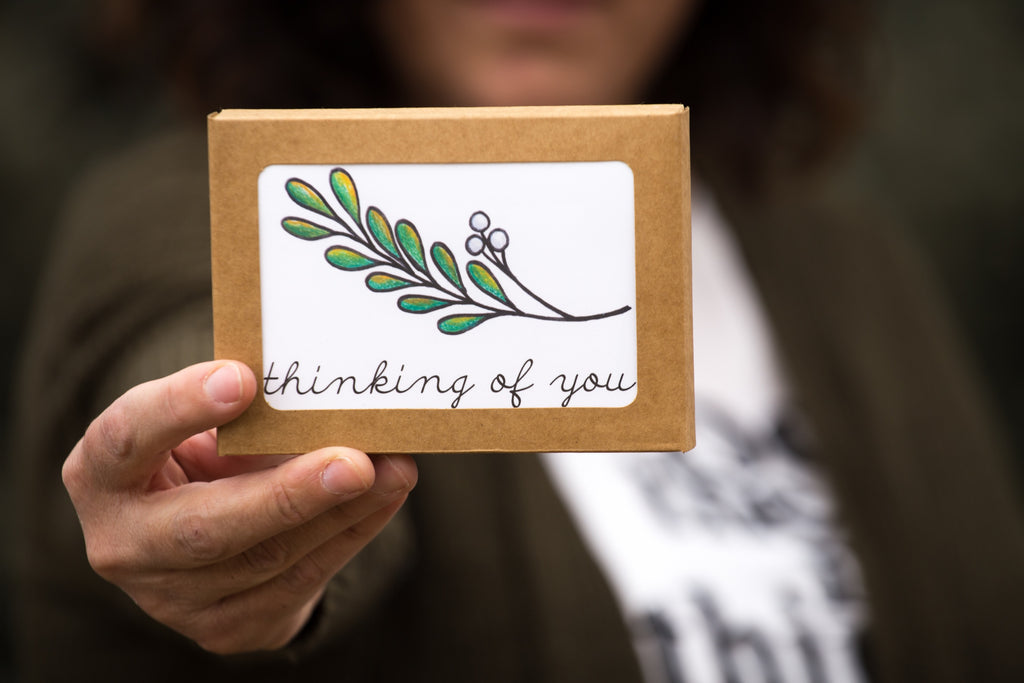 Twig Cards, Choose Your Own Saying - Boxed Set of 8