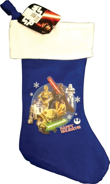 Christmas Stocking - Blue Star wars