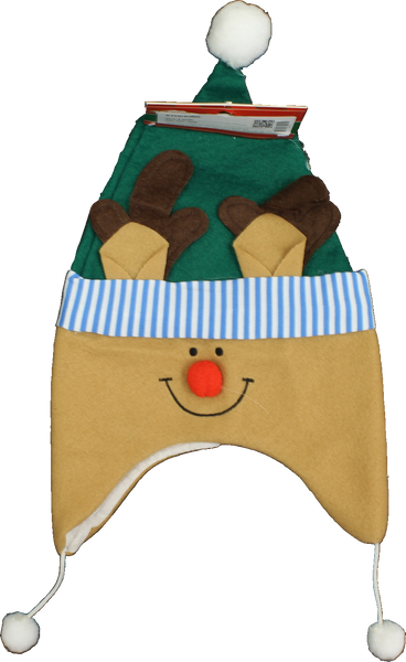 Christmas Stocking - Child's Reindeer Cap