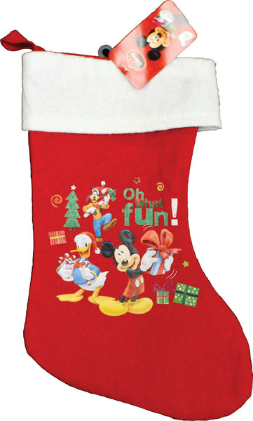 Christmas Stocking - Mickey Mouse