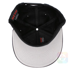 Pop Out Smiley Flat Six Panel Pro Style Snapback OttoCap #1041