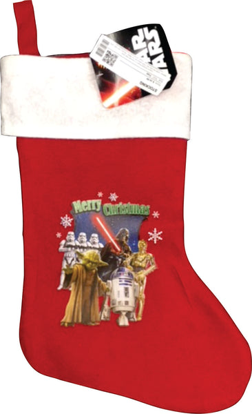 Christmas Stocking - Red Star Wars