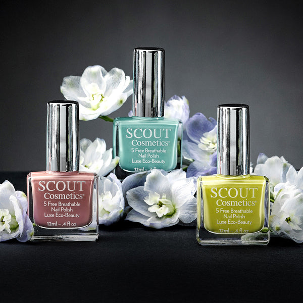 SCOUT Organic Active Beauty - The Benefits Of Breathable Nail Polish