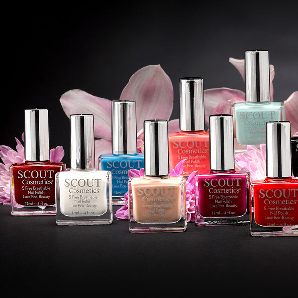 Discover The Natural Ingredients Used In Our New Breathable Nail Polish Formulation