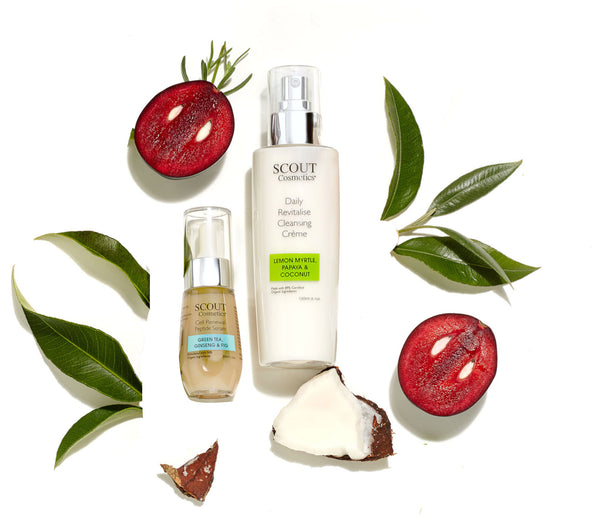 SCOUT Organic Active Beauty - Improve Your Autumn Skincare Routine with Younger Looking Skin Kit