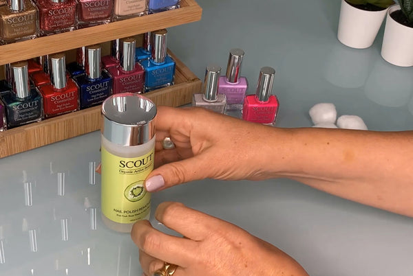Best Acetone Free Nail Polish Remover for Healthy Nails - SCOUT Organic Active Beauty