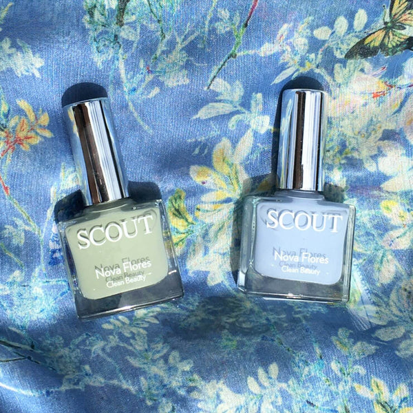 SCOUT Organic Active Beauty - New Improved Nail Polish  Formulation for Even Healthier Nails