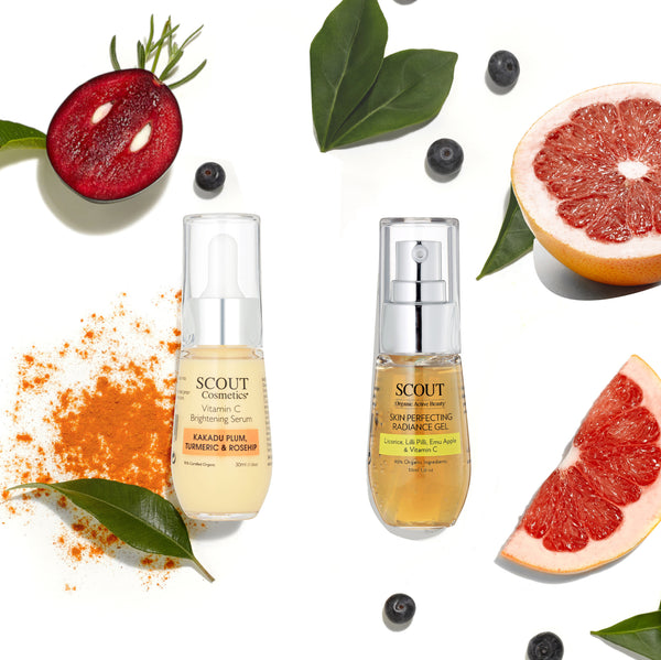 SCOUT Organic Active Beauty - Exciting New Skincare Kit: Vitamin C Treatment Kit