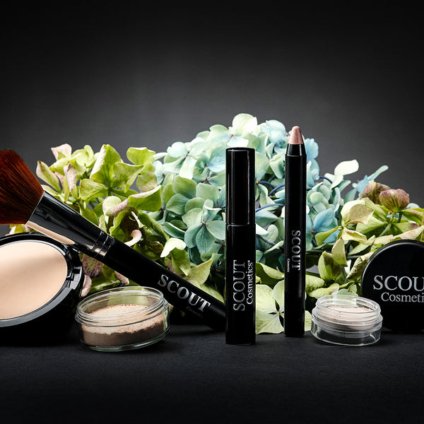 SCOUT Organic Active Beauty - 4 Winter Makeup Step for Glowing Skin