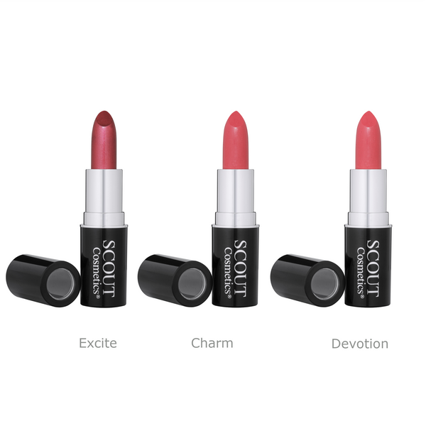 Sultry Nights Pinks Lipstick Trio