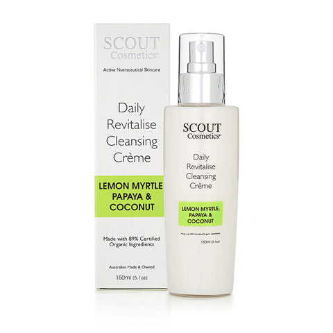 Daily Revitalise Cleansing Crème with Lemon Myrtle, Papaya and Coconut