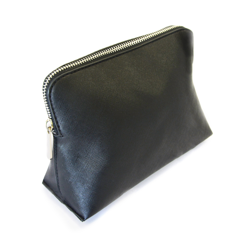 Vegan Leather Makeup Bag