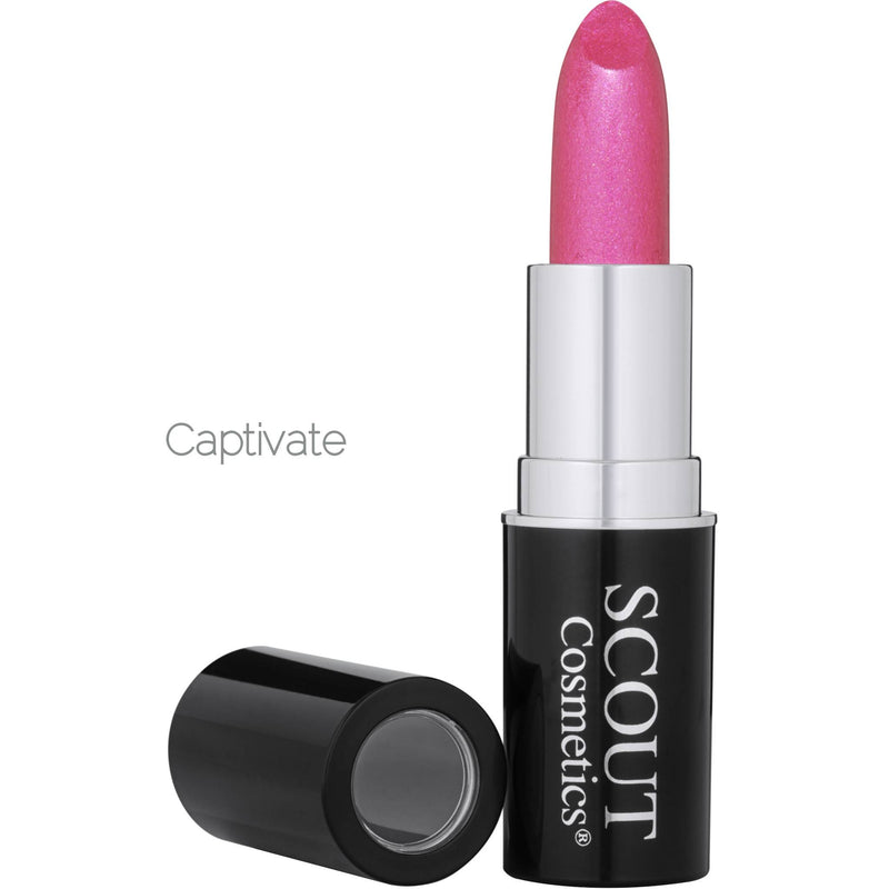 Pure Colour Organic Lipstick with Orange, Jojoba, Vitamin E & Shea Butter
