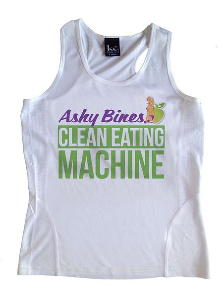 Clean Eating Machine Singlet