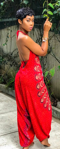 Rojo Gypsy Queen Jumpsuit - MuurSwagg