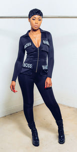 Boss Babe Jumpsuit - MuurSwagg