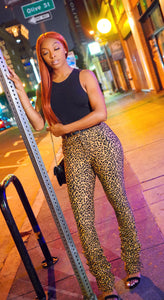 Always Stacked Pants (Leopard)