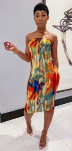Amber Midi Dress - MuurSwagg