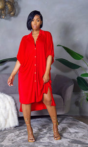 Smooth Talker Dress (Red)