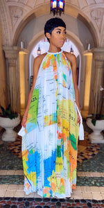 World Tour Maxi Dress - MuurSwagg