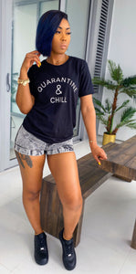 Quarantine & Chill Top (Black) - MuurSwagg